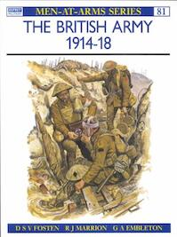 The British Army, 1914-18 - R. J. Marrion, D. S. V. Fosten (ISBN 9780850452877)