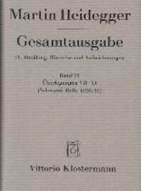 Gesamtausgabe. IV. Abteilung: Hinweise und Aufzeichnungen - Martin Heidegger (ISBN 9783465038337)
