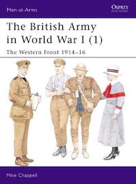 The British Army in World War I - Mike Chappell (ISBN 9781841763996)