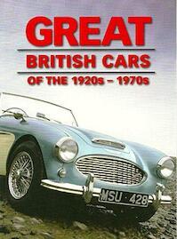 Great British Motor Cars of the 1920s - 1970s - Fid Backhouse, Kieran Fogarty, Sal Oliver (ISBN 9780753730423)