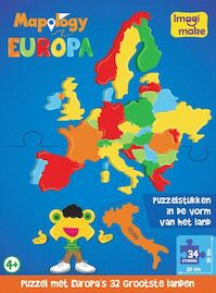 Mapology Europa Puzzel (ISBN 8906057362844)