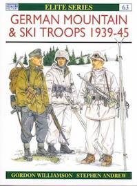 German Mountain & Ski Troops - Gordon Williamson (ISBN 9781855325722)