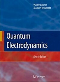 Quantum Electrodynamics - Walter Greiner (ISBN 9783540875604)