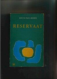 Reservaat - Louis Paul Boon