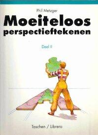 Moeiteloos - perspectieftekenen deel II / Krommen en schuine lijnen - Phil Metzger (ISBN 9783822806203)