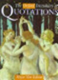 The Oxford dictionary of quotations - Elizabeth M. Knowles (ISBN 9780198601739)
