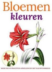 Bloemen kleuren (ISBN 9789059474918)
