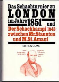 Das Schachturnier zu London im Jahre 1851 / (ISBN 9783283000547)