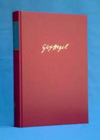 Gesammelte Werke, Bd.3, Frühe Exzerpte (1785 – 1800) - Georg W F Hegel (ISBN 9783787302697)
