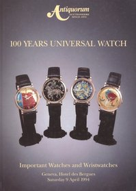 100 years universal watch