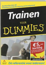Trainen voor dummies - E. Biech (ISBN 9789043011372)