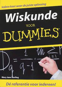 Wiskunde voor Dummies - Mary Jane Sterling (ISBN 9789043015394)
