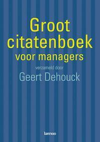 Groot citatenboek voor managers - Unknown (ISBN 9789020972979)