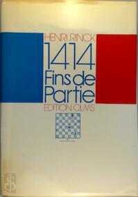 1414 fins de partie - Henri Rinck (ISBN 9783283000936)