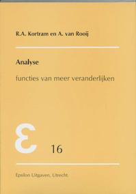 Analyse - R.A. Kortram, A. van Rooij, Arnoud van Rooij (ISBN 9789050410243)