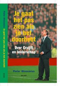 Je gaat het pas zien als je het doorhebt - Pieter Winsemius (ISBN 9789050187343)