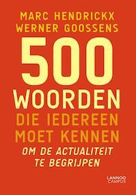 300 woorden die iedereen moet kennen - Marc Hendrickx (ISBN 9789401410427)