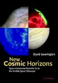 New cosmic horizons - David Leverington (ISBN 9780521651370)
