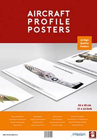 Aircraft Profile Posters - (ISBN 9788365281210)