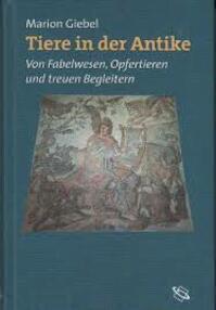 Tiere in der Antike - Marion Giebel (ISBN 9783534151400)