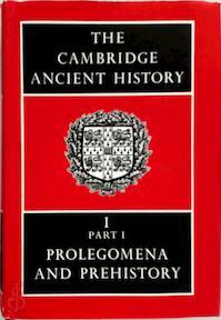 The Cambridge Ancient History - (ISBN 9780521070515)