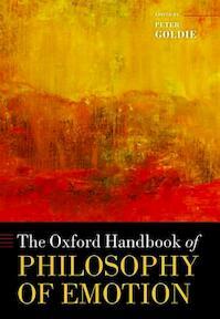 Oxford Handbook of Philosophy of Emotion - Peter Goldie (ISBN 9780199654376)
