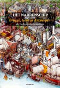 Het Narrenschip legt aan in Brugge, Gent en Antwerpen - Jules Van Bochelt (ISBN 9789401425643)