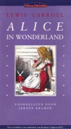 De avonturen van Alice in Wonderland - Luisterboek - Lewis Caroll, Keroen Kramer [Voorlezer]