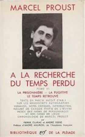 À la recherche du temps perdu [3 volumes] - Marcel Proust