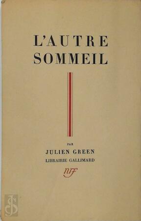 l'Autre Sommeil - Julien Green