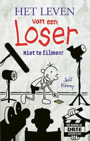 Het leven van een Loser - Niet te filmen! Filmeditie - Jeff Kinney