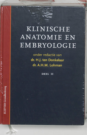 Klinische anatomie en embryologie ( set van 2 delen) / 1 en 2 - Unknown