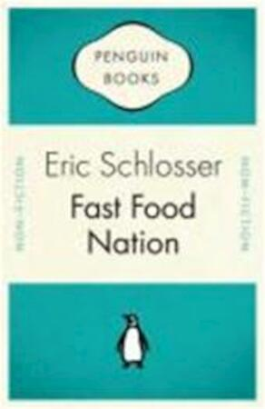 a reaction to fast food nation a book by eric schlosser But journalist eric schlosser's thoroughly researched and well-written probe into  the  fast food nation traces the history of the fast food industry from  after  reading this book, you shouldn't find that a hard choice to make.
