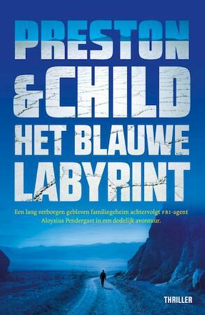 Het blauwe labyrint (POD) - Preston & Child