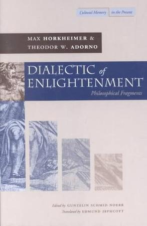 adorno and horkeimers dialectic of enlightenment Adorno's position1 after providing a brief overview of horkheimer's interpretation of the historical enlightenment, i will examine the new concept of enlighten- ment that horkheimer and adorno introduce in dialectic of enlightenment in con- trast to horkheimer's early writings, in which he had stressed the critical and anti.