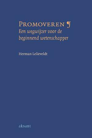 Promoveren - H. Lelieveldt