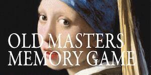 Old masters memory game - Mieke Gerritzen