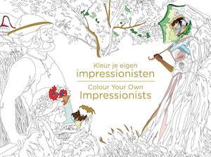 Kleur je eigen impressionisten -