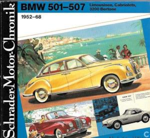 BMW 501-507 Limousinen, Cabriolets 3200 Bertone 1952-68 - Walter Zeichner