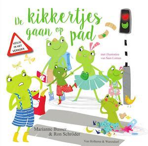 De kikkertjes gaan op pad - Marianne Busser, Ron Schröder