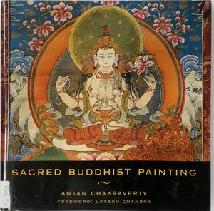 Sacred Buddhist painting - Anjan Chakraverty