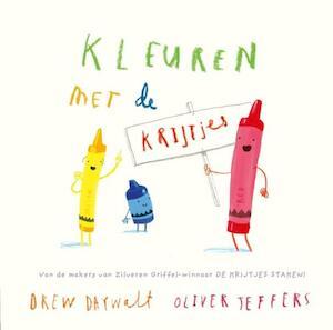 Kleuren met de krijtjes - Drew Daywalt, Oliver Jeffers