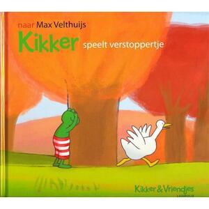 Kikker speelt verstoppertje - Max Velthuijs