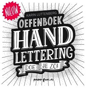 Handlettering doe je zo! Oefenboek - Karin Luttenberg