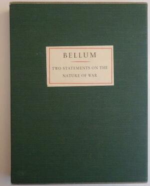 Bellum, two statements on the nature of war - Desiderius Erasmus, Otto Dix