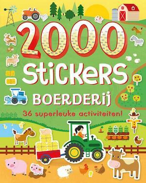 2000 stickers Boerderij -