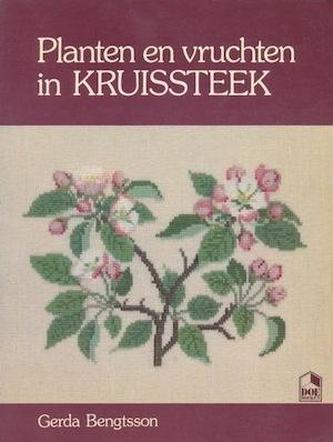 Planten en vruchten in kruissteek - Gerda Bengtsson