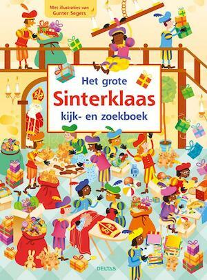 Het grote Sinterklaas kijk- en zoekboek -