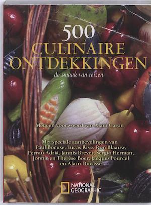 500 culinaire ontdekkingen -
