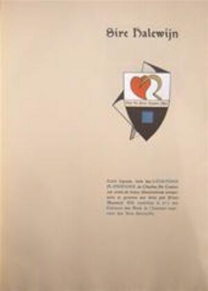 Sire Halewijn - Charles Decoster, Frans [ills.] Masereel